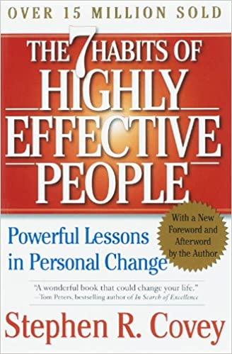 The 7 Habits of Highly Effective People cover page.