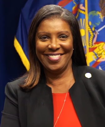 Letitia James, the 67th Attorney General in the State of New York