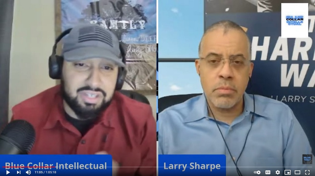 Blue Collar Intellectual with Larry Sharpe Talking Libertarianism