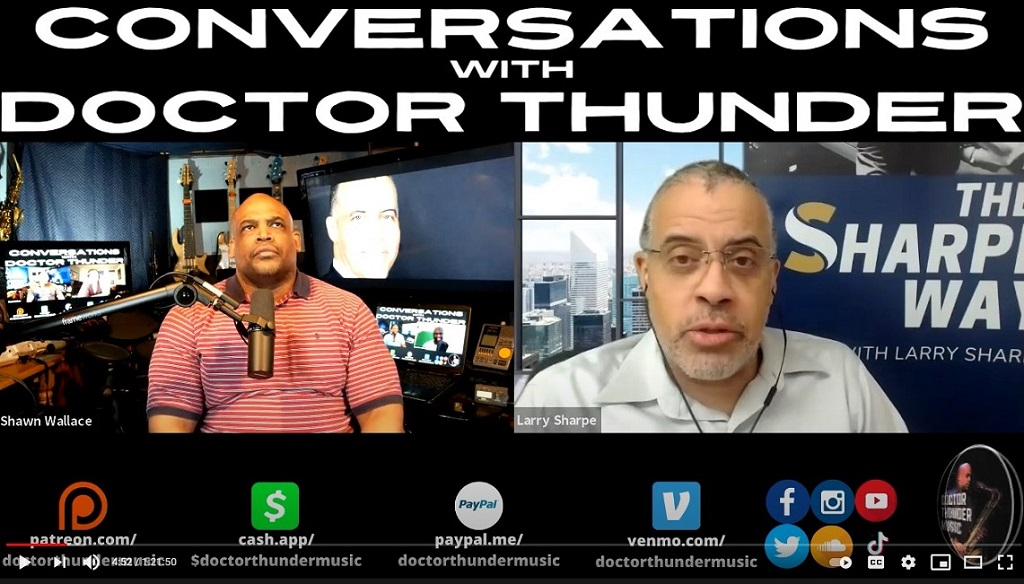 Doctor Thunder: Reparations, Forced Integration, '94 Crime Bill & Rogan with Larry Sharpe​