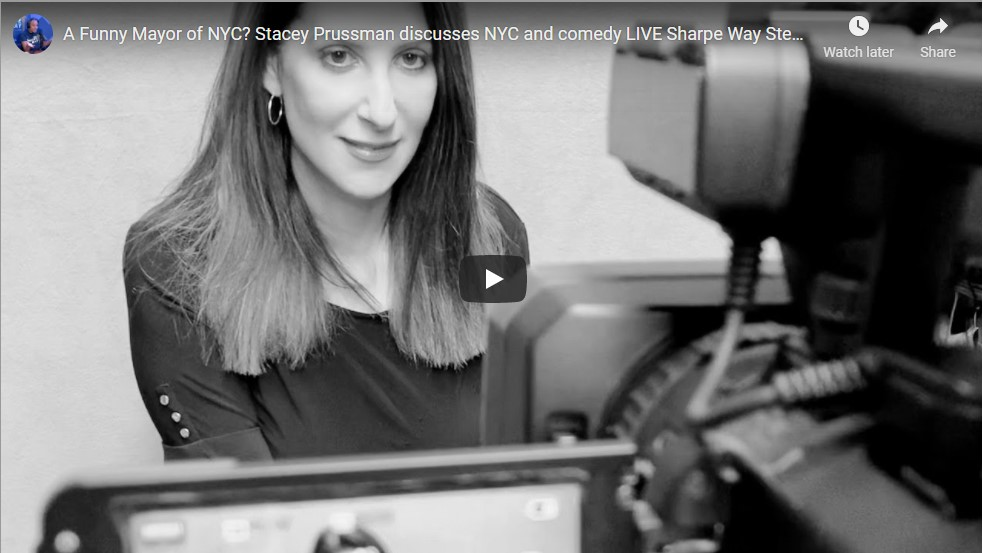 Larry Sharpe: Funny Mayor Stacey Prussman Discusses NYC