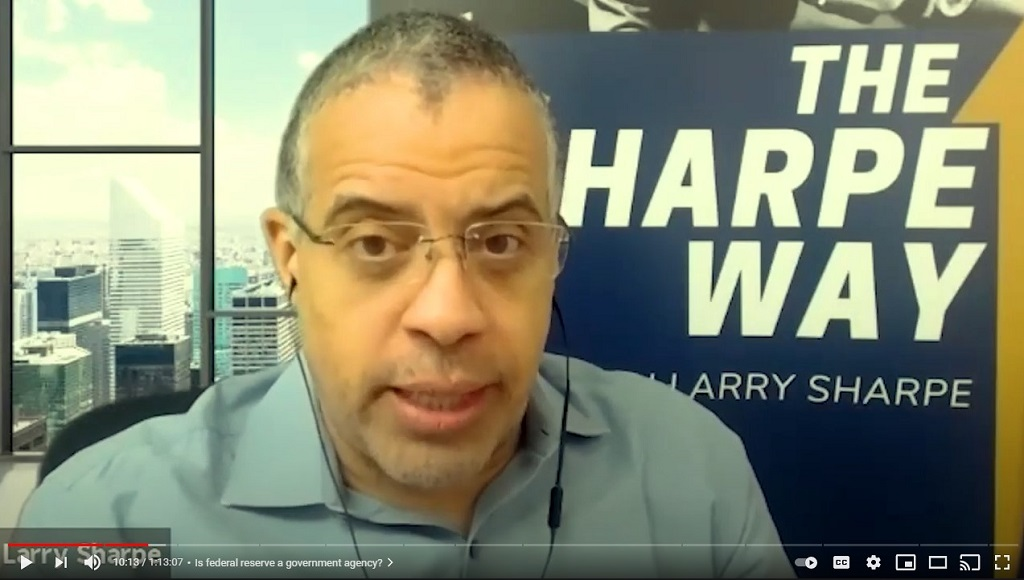 Larry Sharpe: How to Create a Freer Society and How the US Dollar Could Crumble with Vance Crowe