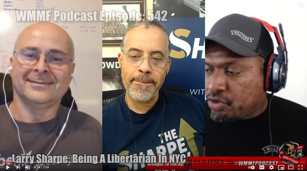 Larry Sharpe: Being A Libertarian In NYC Under Covid-19 Lockdown with Hank Strange