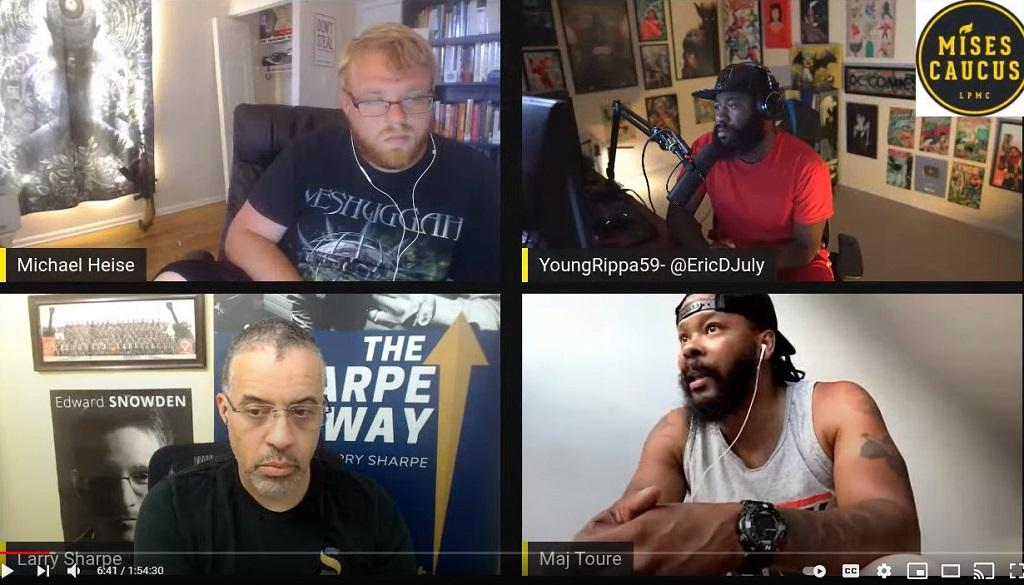 Culture Cops and the Current W/ Eric July, Maj Toure and Larry Sharpe
