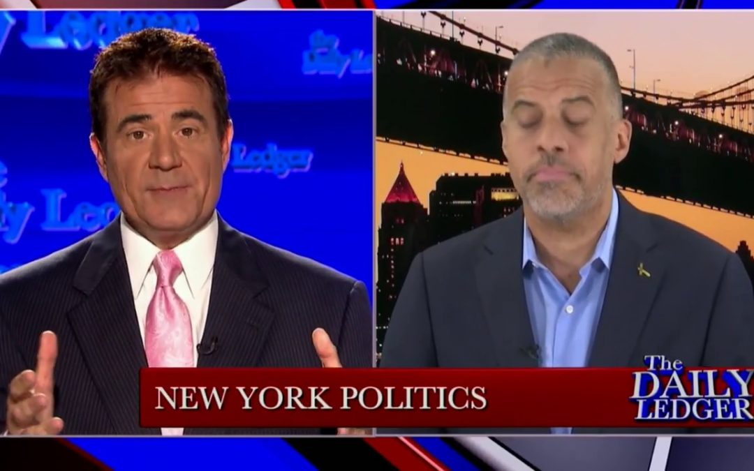 Libertarian Candidate for Governor of New York, Larry Sharpe
