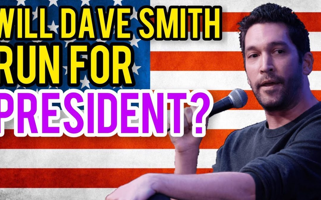 Will Dave Smith Run For President? Libertarian Larry Sharpe & Chrissie Mayr Discuss Possibilities!