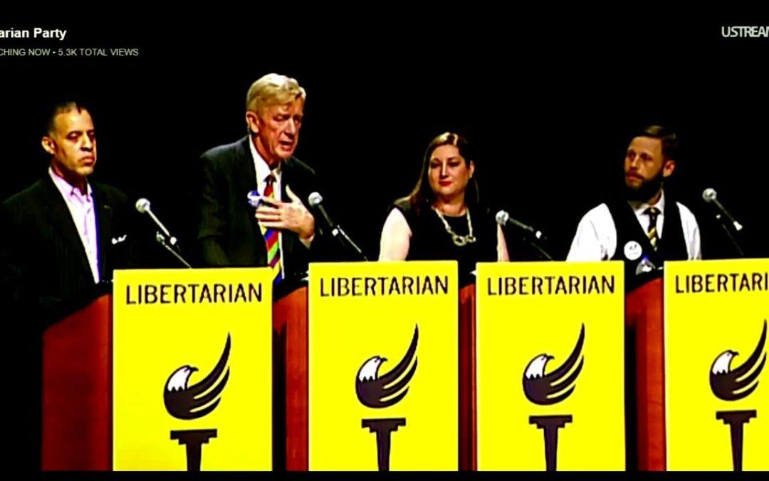 Larry Sharpe: 2016 Libertarian National Convention Vice Presidential Debate