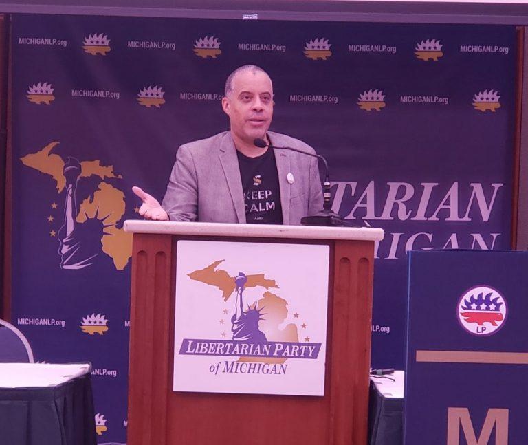 Libby Fest Larry Sharpe in Michigan