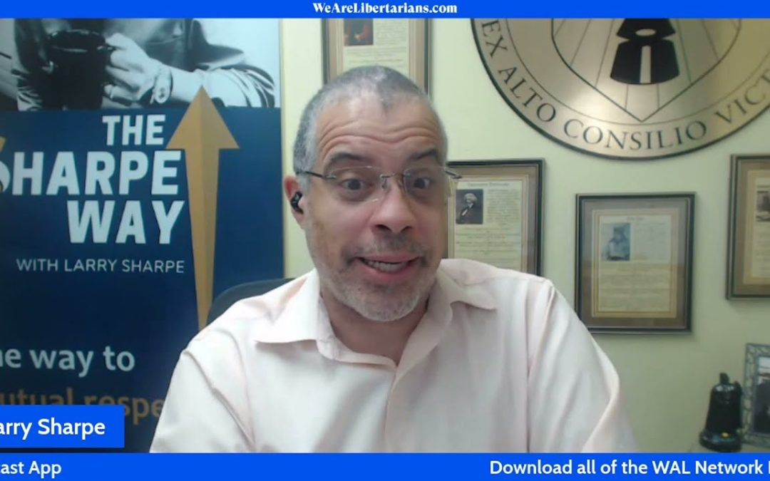 Larry Sharpe Talks About Happiness Book With Chris Spangle on We Are Libertarians