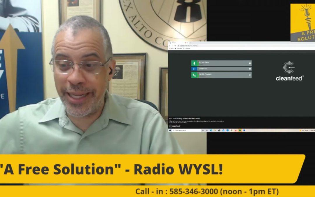 Shane From KRTD Media Calls into Larry Sharpe WYSL