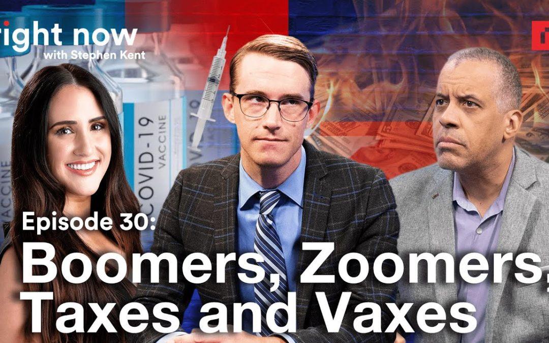 Hannah Cox & Larry Sharpe Discuss Generational Warfare and Fighting Biden's Vaccine Mandate with Stephen Kent