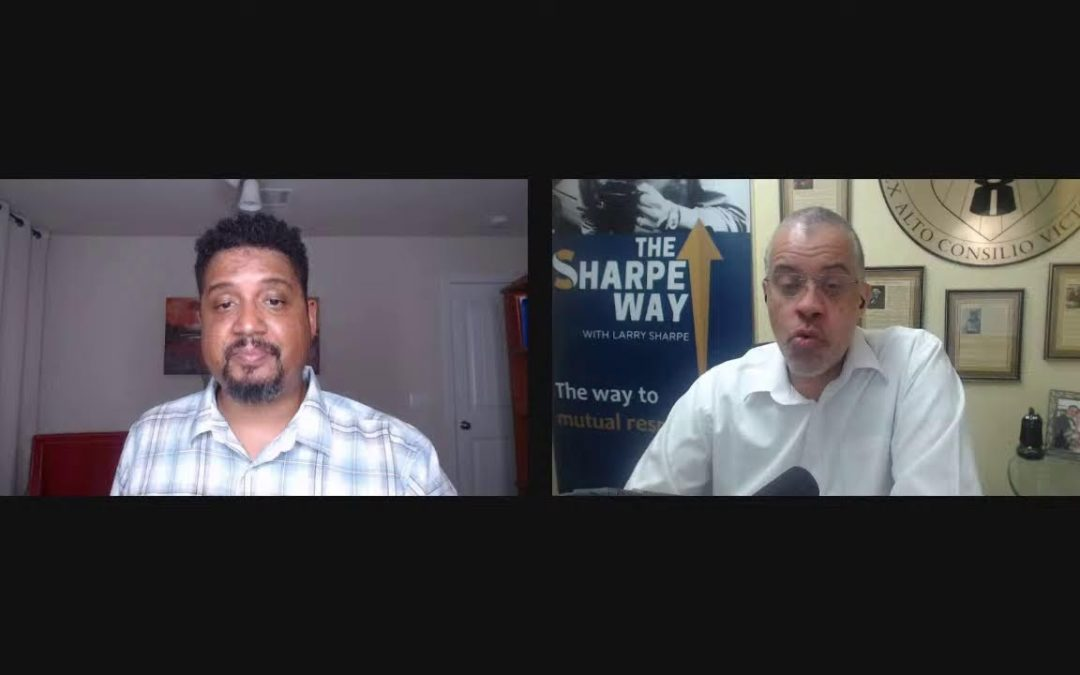Jeff Charles: Chopping It Up With Larry Sharpe