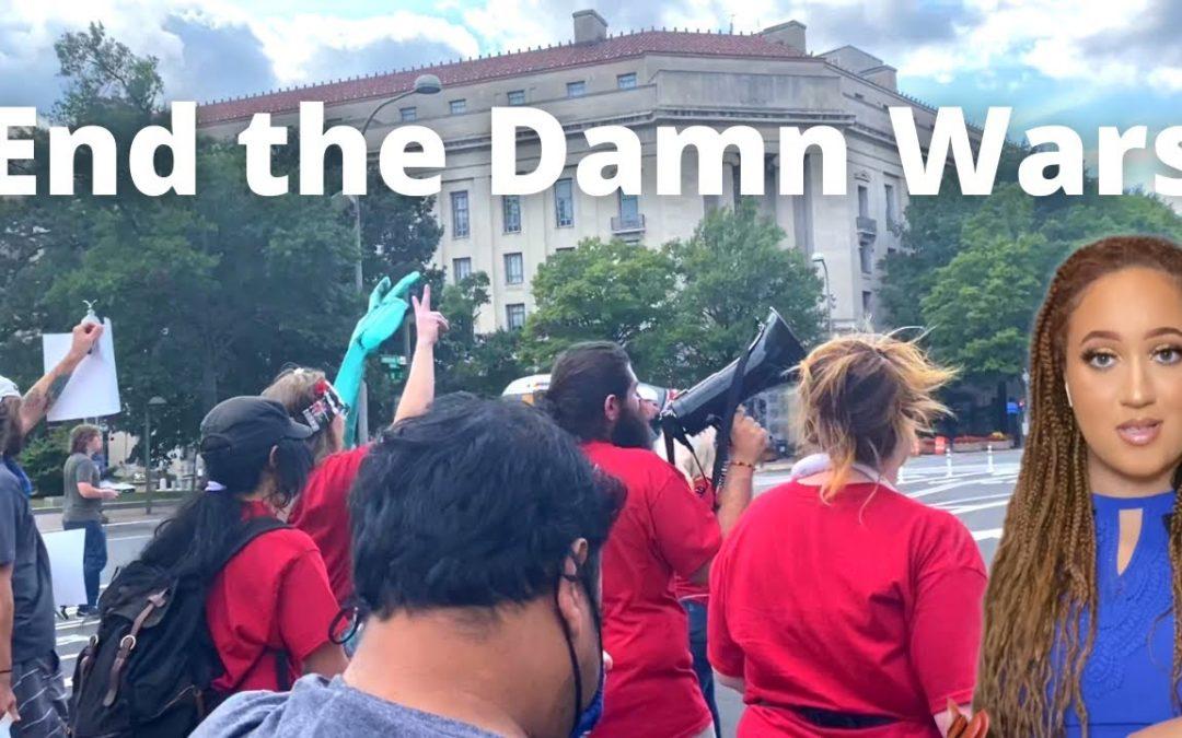 The Sharpe Way| Olivia Rondeau: 9/11 End the Damn Wars Rally
